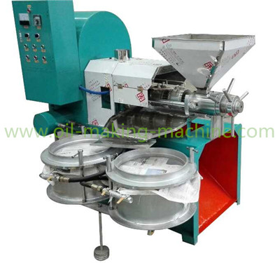 New-type oil press machine