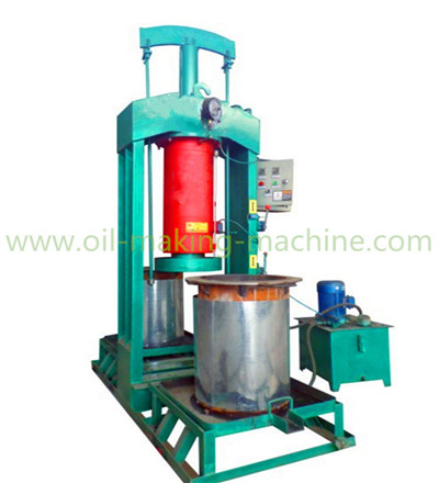 Hydraulic coconut oil press machine