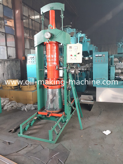 Hydraulic palm oil press machine